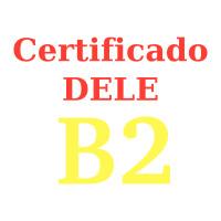 Certificado español DELE B2
